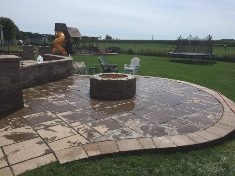 Custom Patio and Fire Pit, Chester NJ