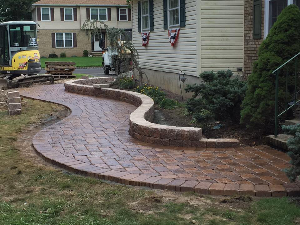 Custom Paver Walkway Installation – Succasunna NJ
