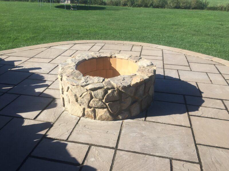 Outdoor Fire Pit Design - Mendham NJ