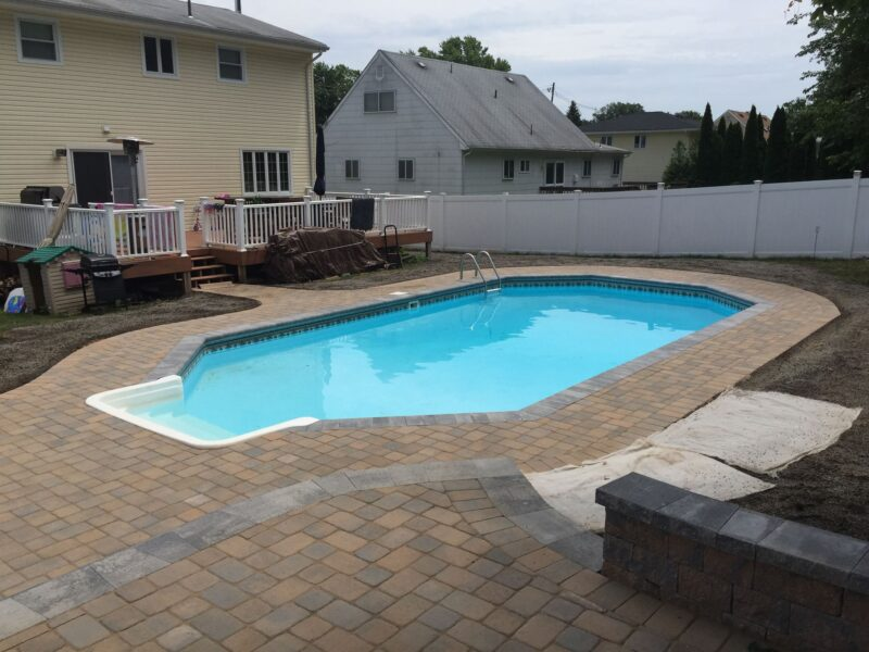 Paver Poolscape - Madison New Jersey