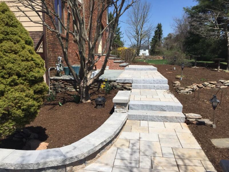 Paver Stairs After – Succasunna NJ