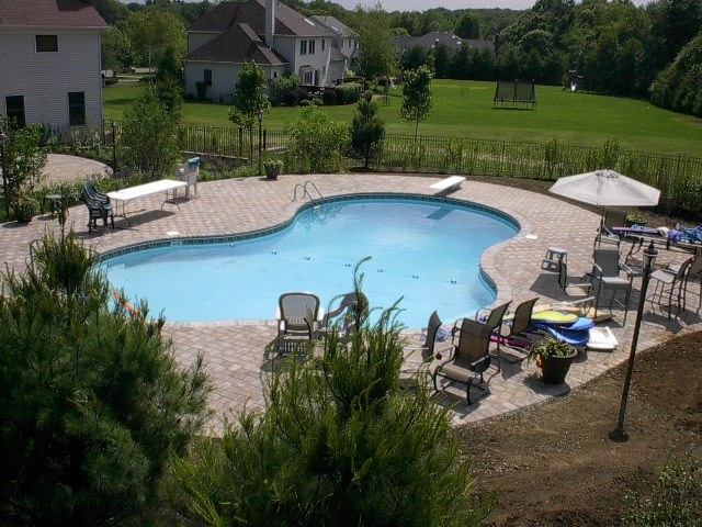 Pool Patio Installation – Flanders New Jersey