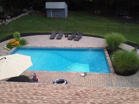 Poolscape Installation, Flanders NJ