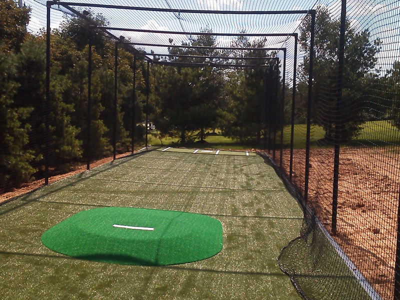 Baseball Construction Project, Flanders New Jersey