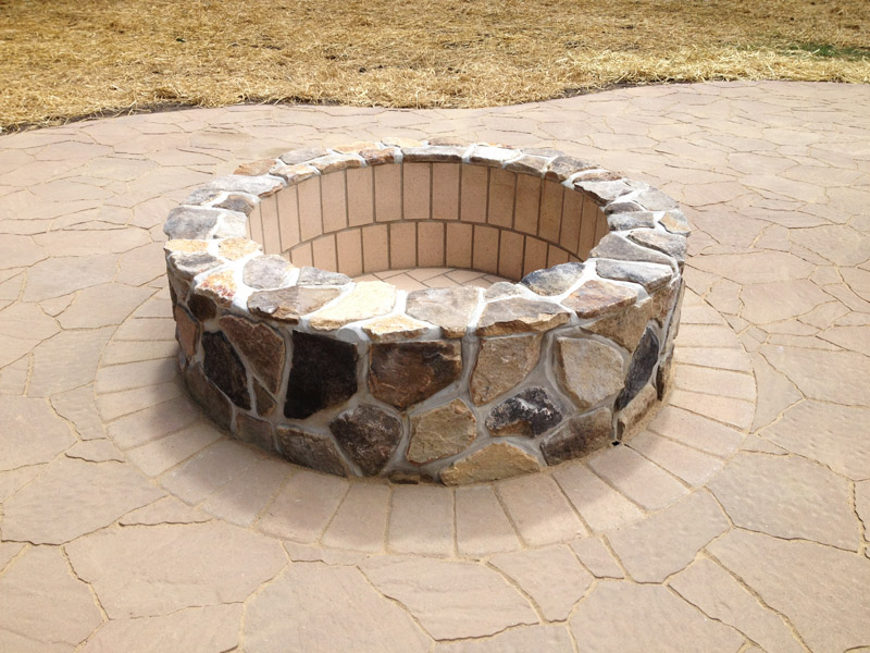 Outdoor Fire Pit Completion, Mount Olive New Jersey