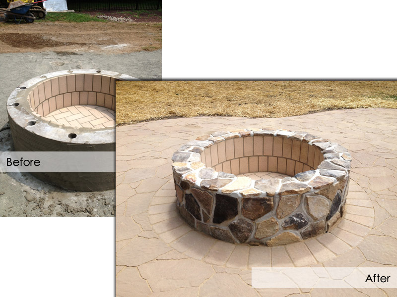 Outdoor Fire Pit, Mount Olive New Jersey