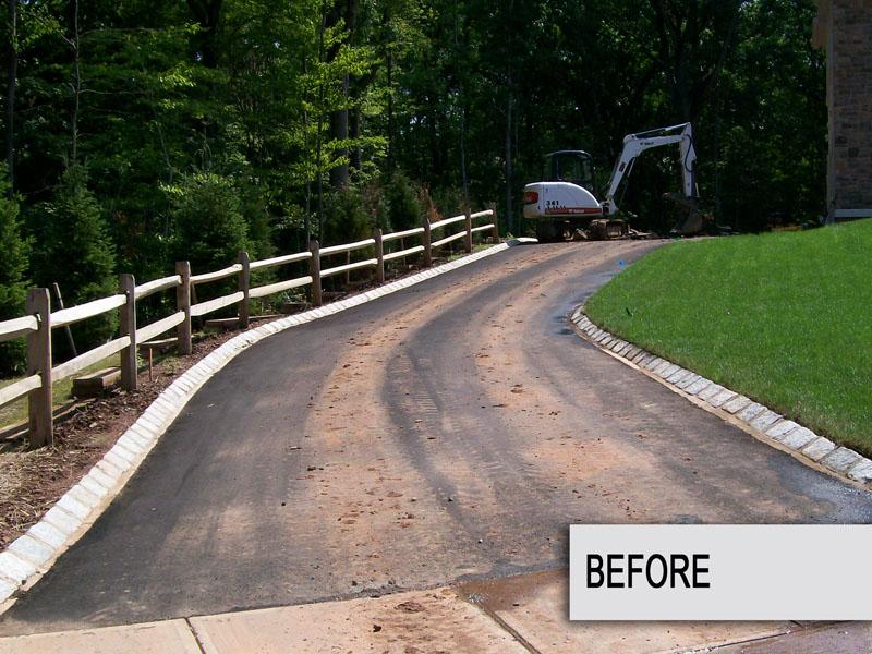 Custom Paver Driveway Installation, Chester NJ