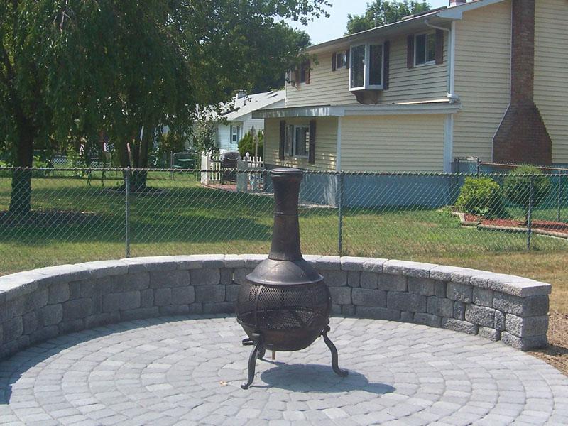 Circle Paver Paver Design, Hackettstown NJ