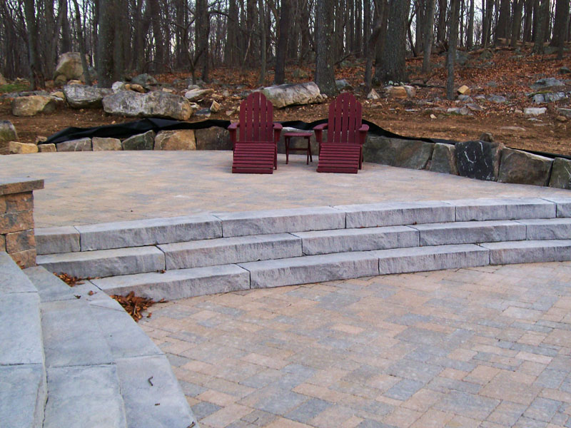 Hardscape Patio Design, Bedminster NJ