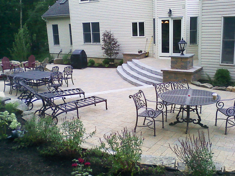 Hardscape Paver Patio Design, Byram NJ