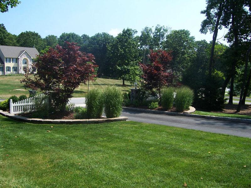 Landscape Driveway Planters, Chester NJ