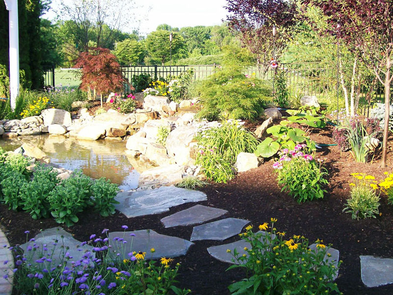 Custom Pond Landscaping, Ledgewood NJ