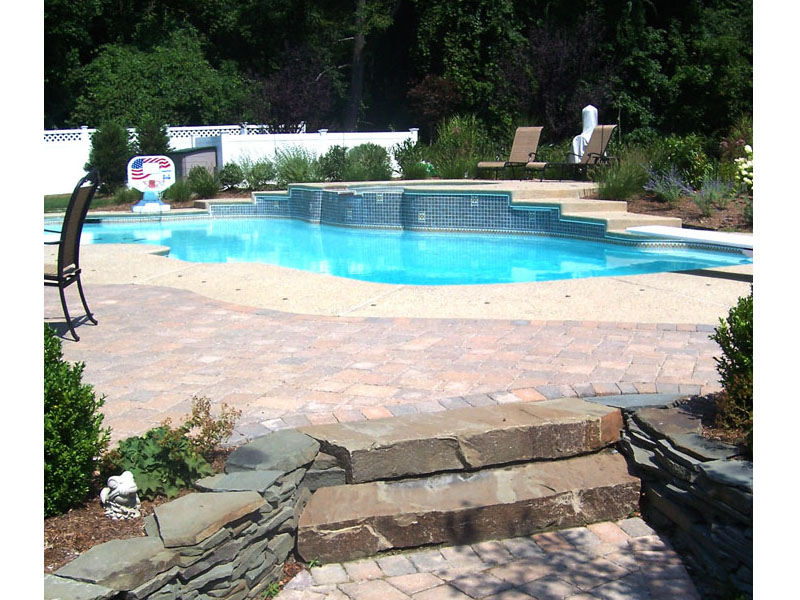 Outdoor Poolscape, Peapack Gladstone NJ