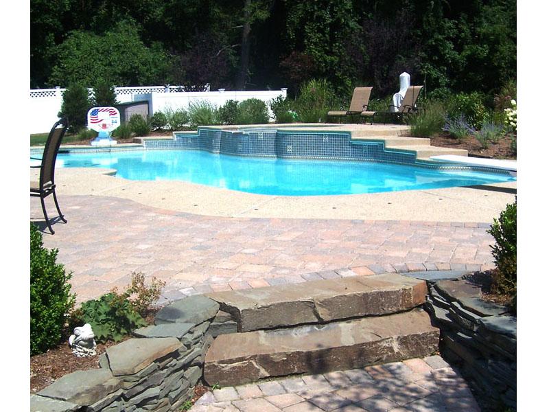 Outdoor Poolscape, Peapack Gladstone NJ