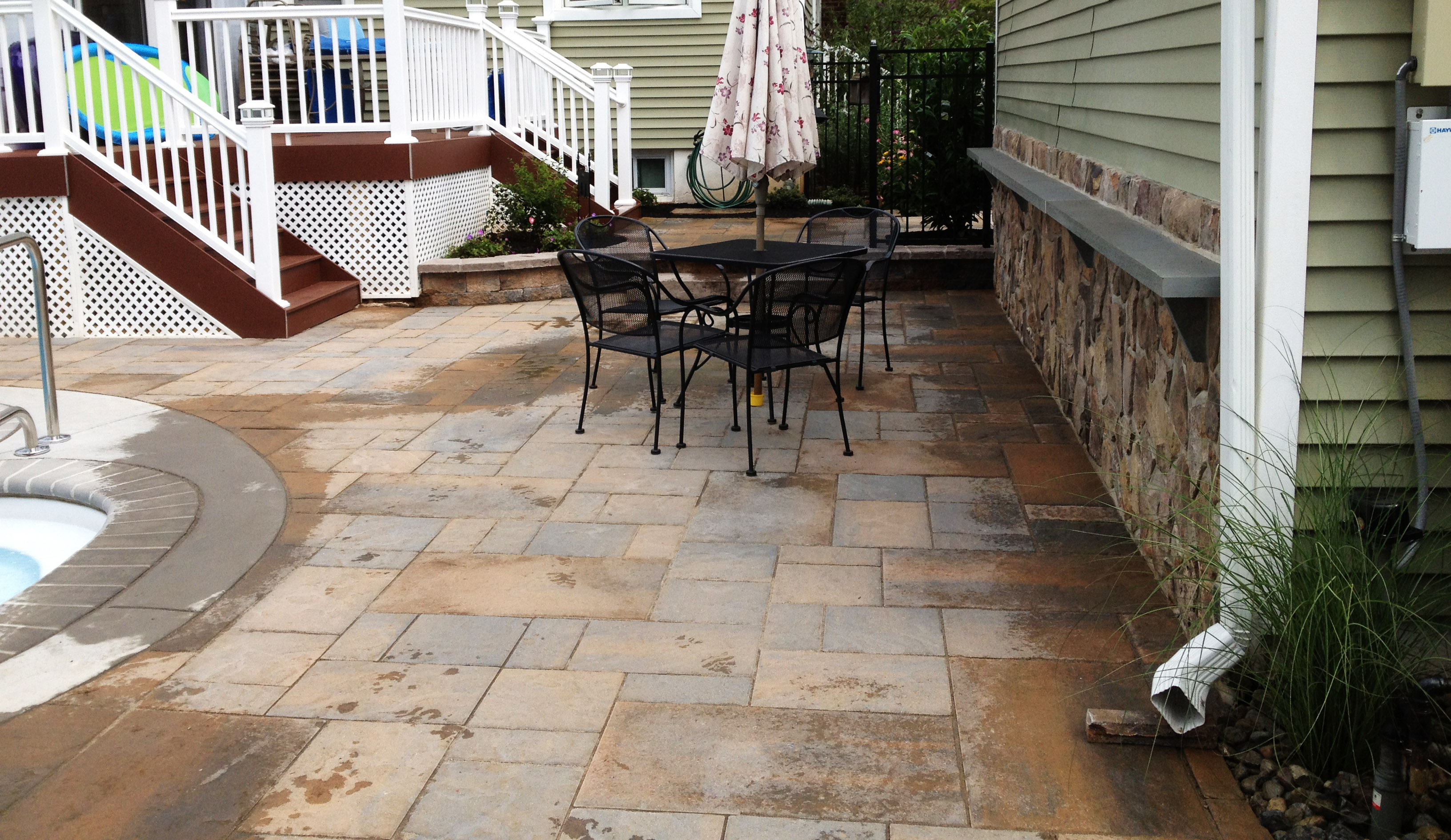 Paver Patio, Roxbury New Jersey