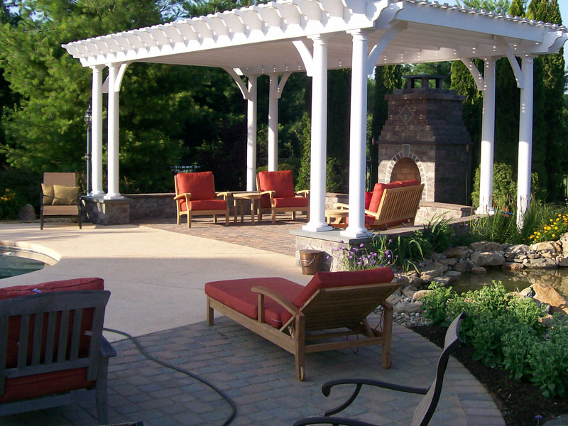 Custom Outdoor Patio, Chester NJ