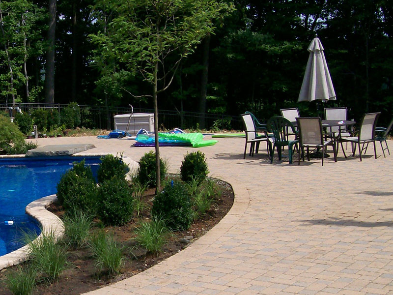 Custom Paver Patio,  Chester NJ