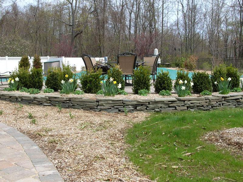 Custom Landscape Planter, NJ