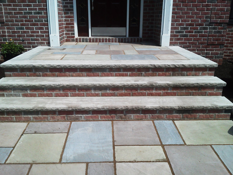 Paver Stairs and Entrance, Chester New Jersey
