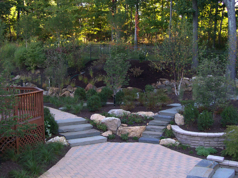 Stairs and Paver Patio, Flanders NJ