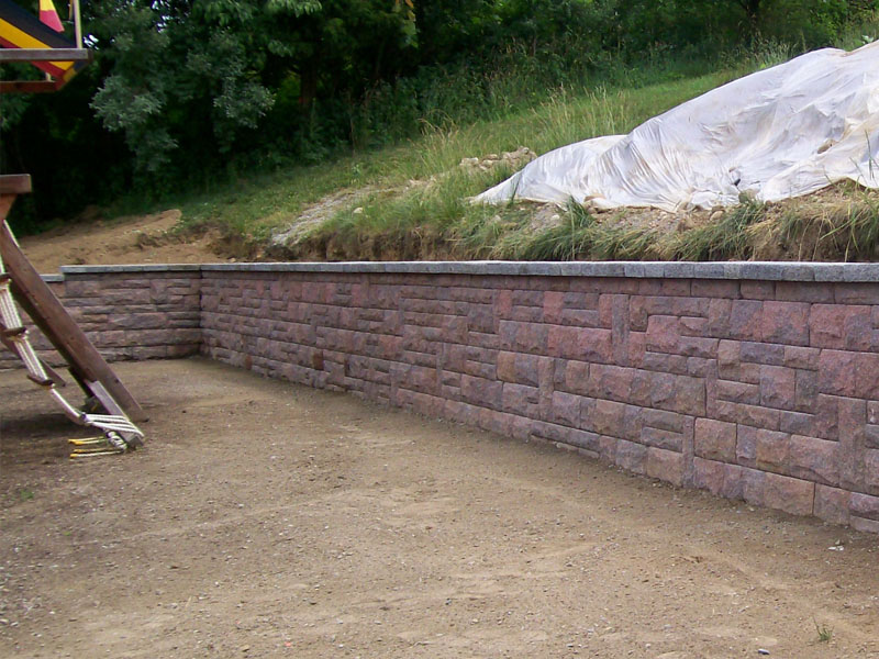 Paver Wall, Flanders NJ
