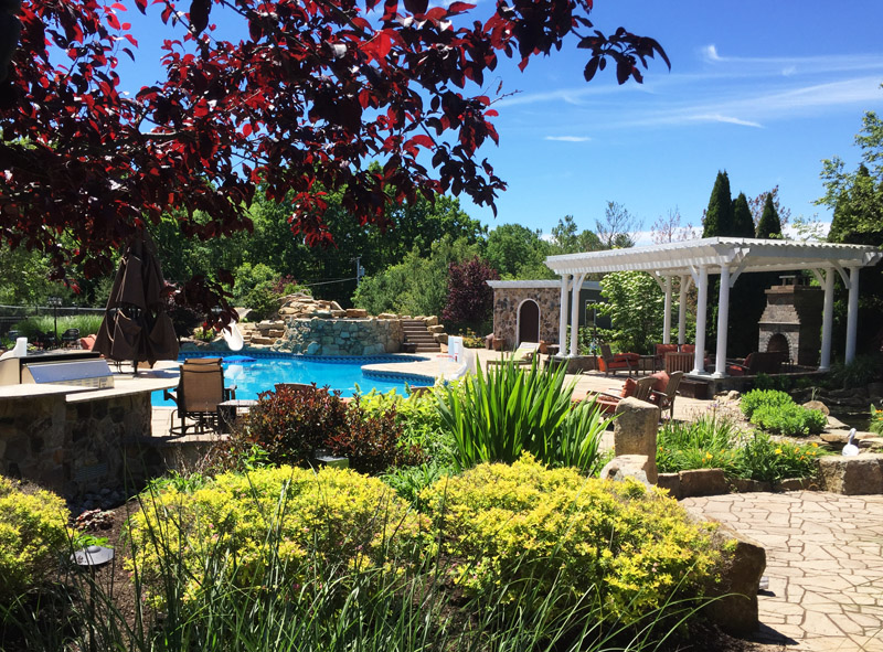 Custom Poolscape, Chester New Jersey
