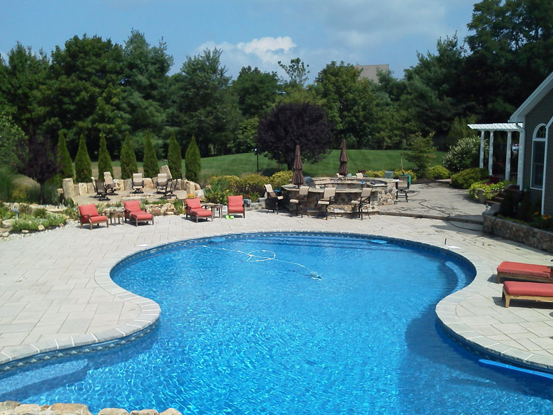Custom Poolscape Design, Flanders NJ