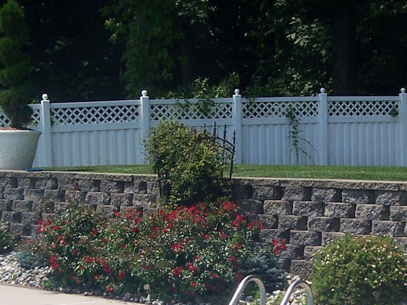 Retaining Wall for a Pool, Flanders NJ
