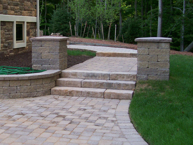 Paver Walkway and Stairs, Flanders NJ