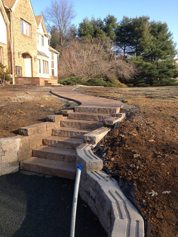 Paver Stairs – Flanders, New Jersey
