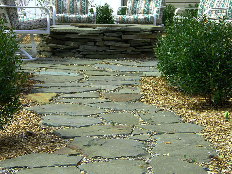 Slate Stone Walkway, Bedminster New Jersey