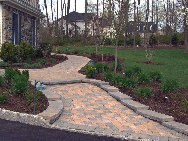 Paver Walkway, Long Valley NJ