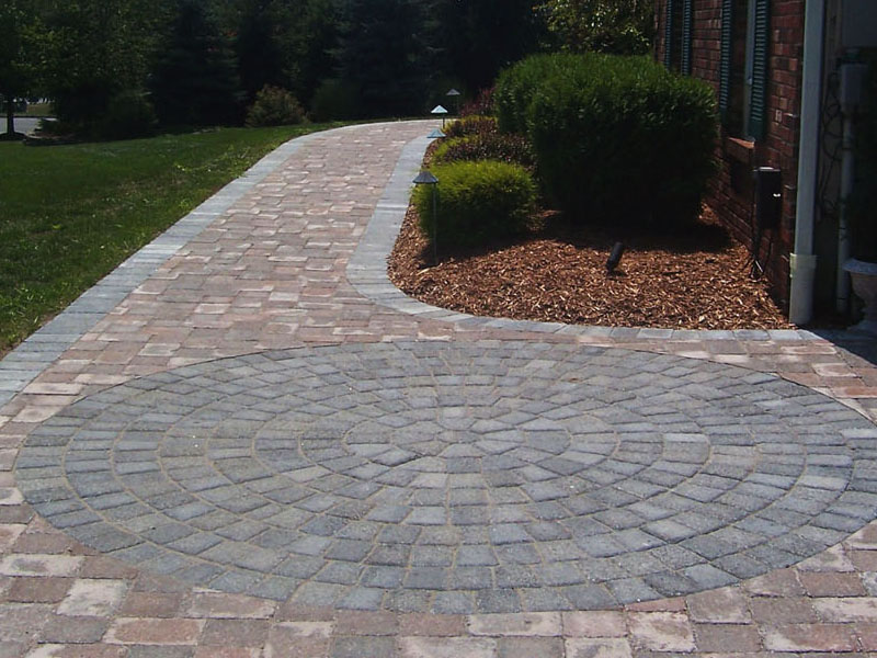 Circle Kit Paver Walkway, Flanders NJ