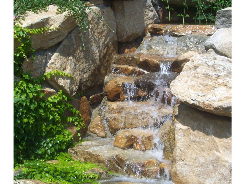 Outdoor Waterfall Design, Flanders NJ