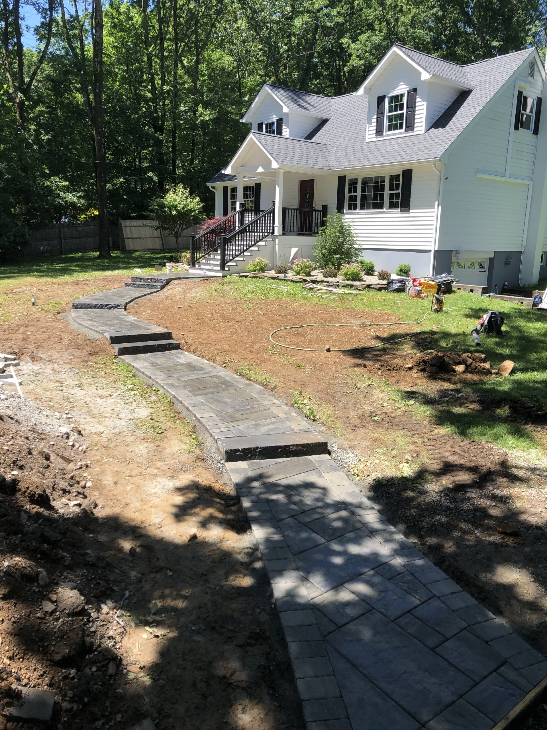 Paver Walkway Installation – Chester NJ