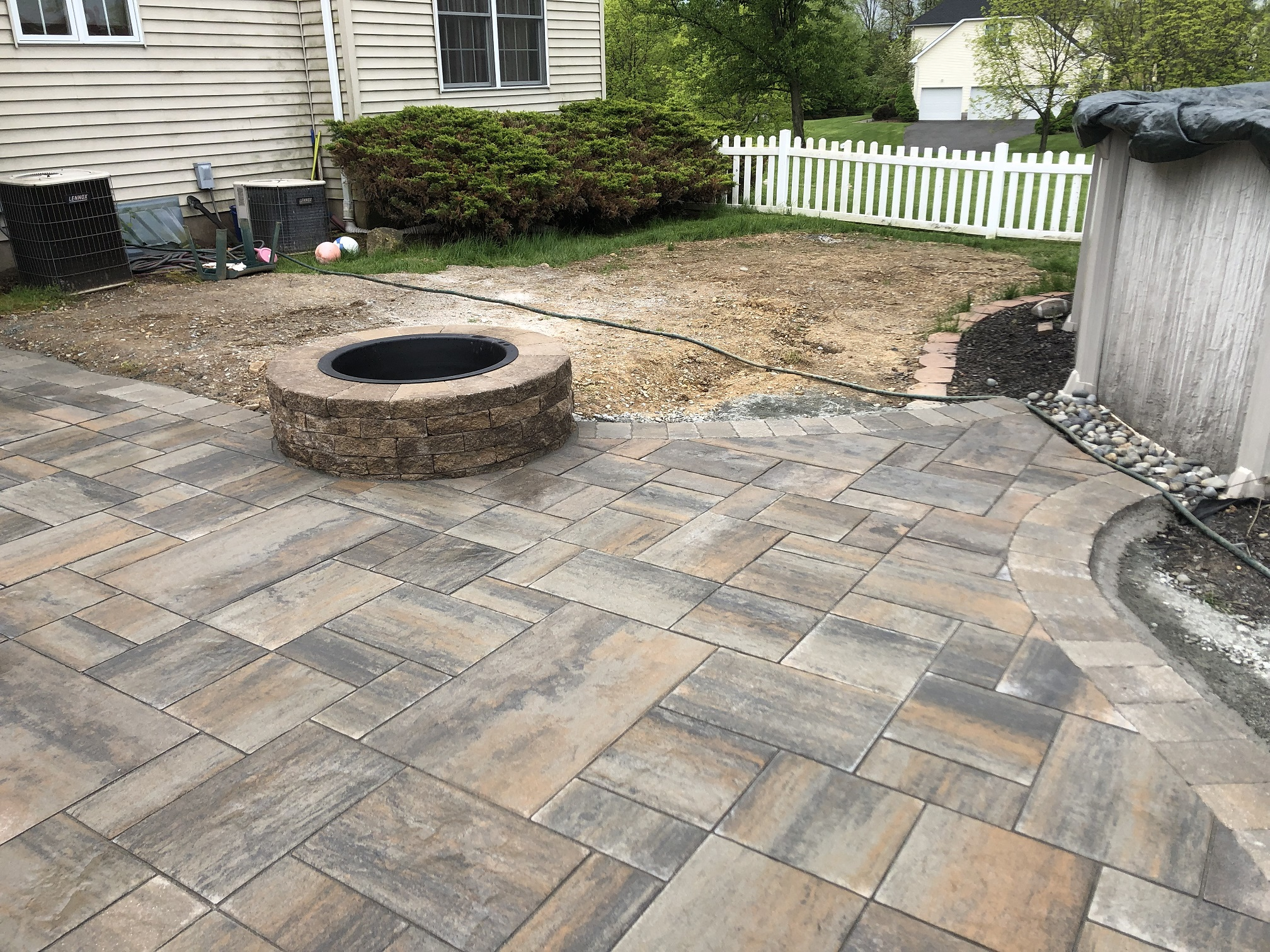 Firepit and Paver Patio – Roxbury NJ