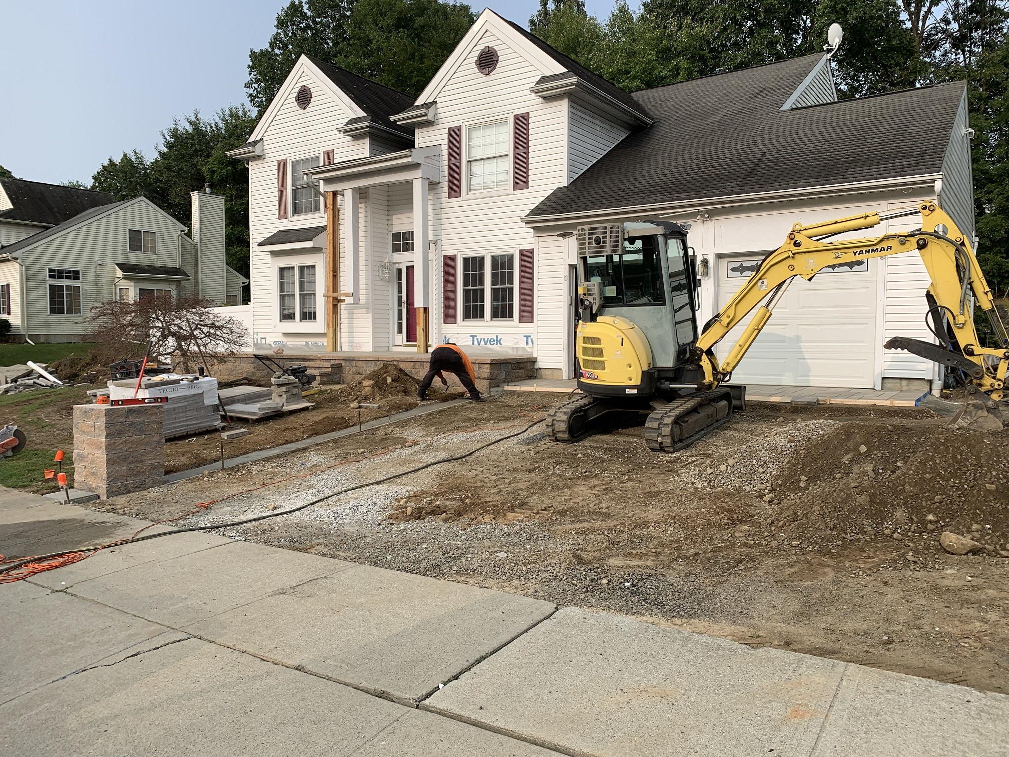 Fire Pit Install – Hackettstown NJ