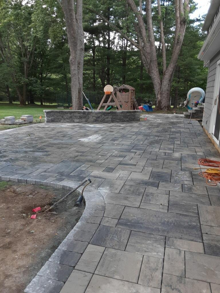 Paver Patio Installation – Mendham NJ