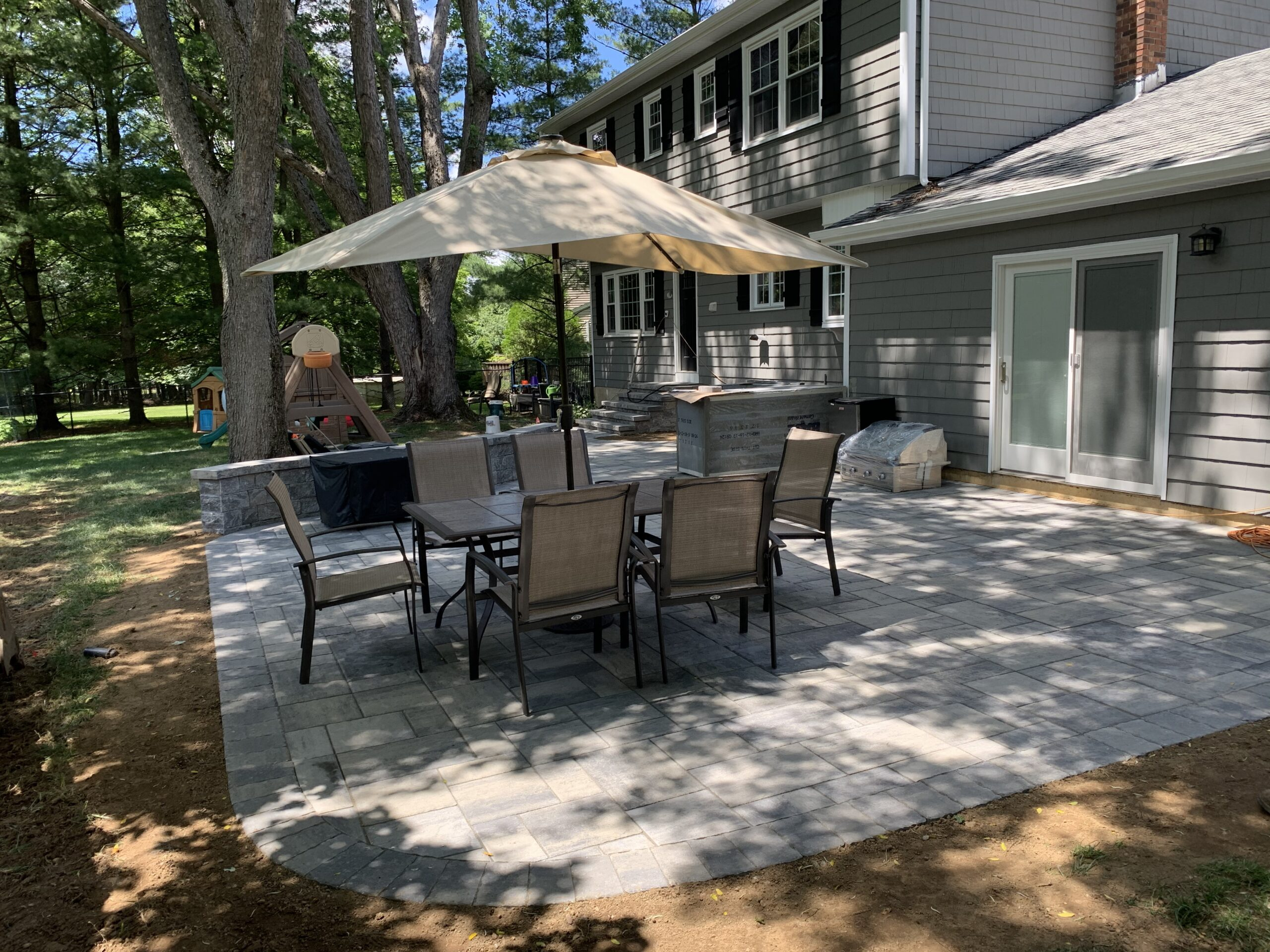 Paver Patio - Flanders NJ