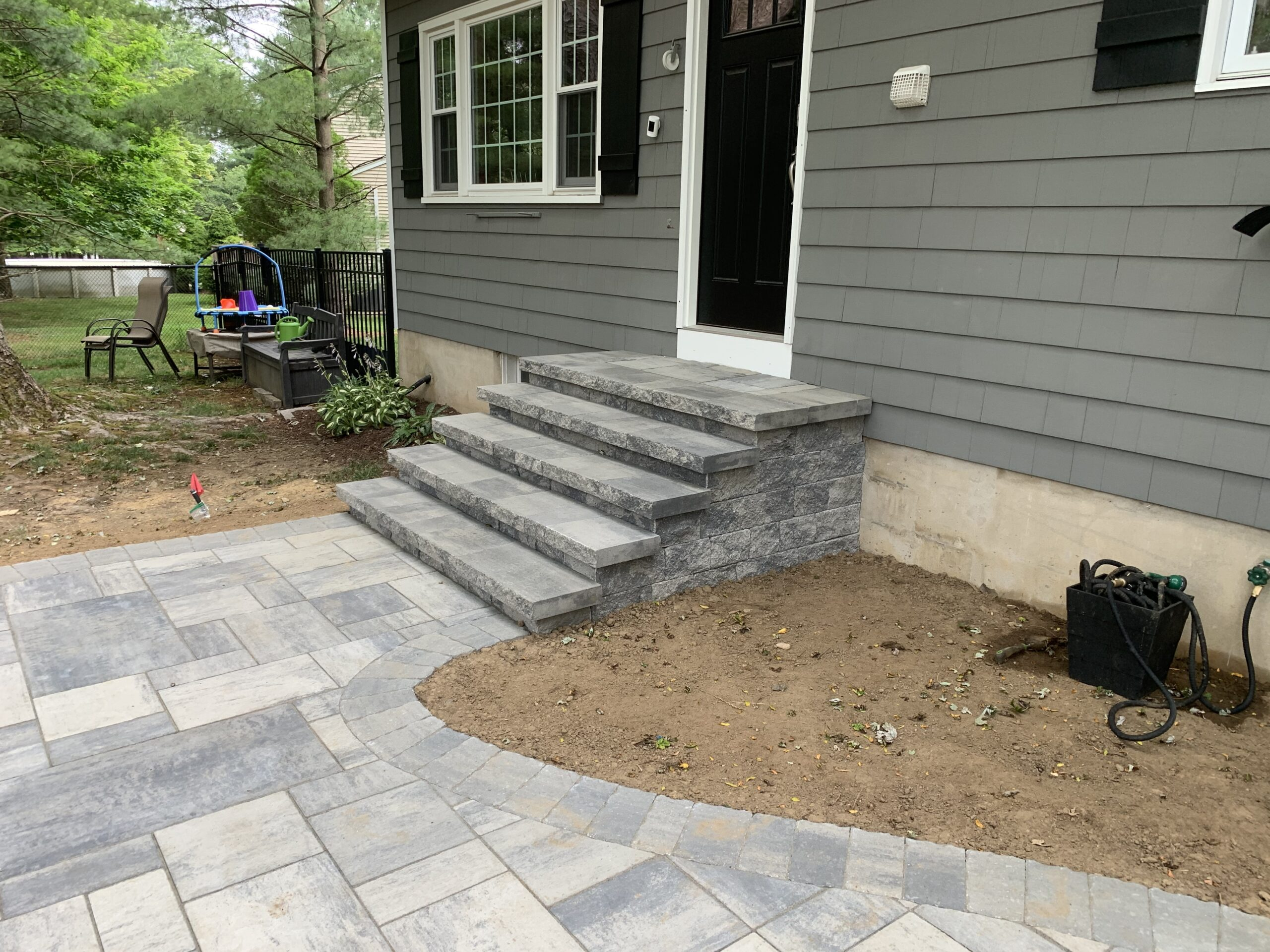 Paver Walkway and Stairs- Flanders NJ