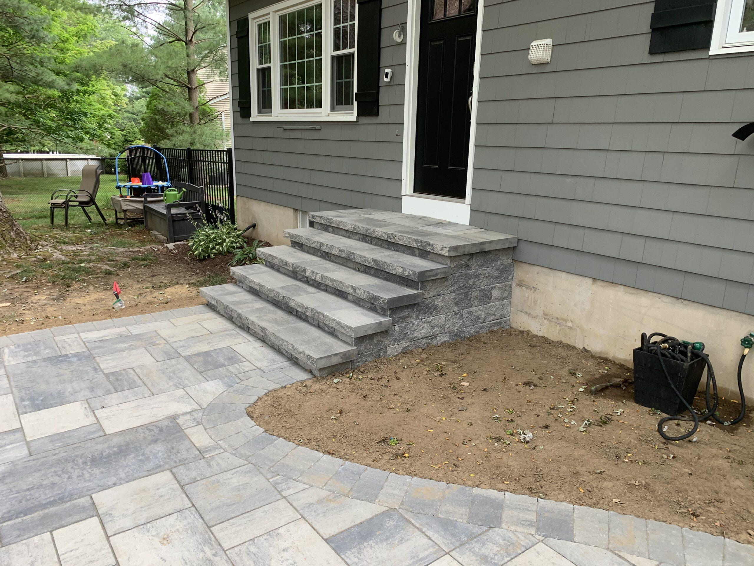 Paver Walkway and Stairs- Flanders NJ