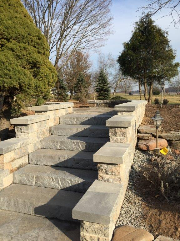 Stone Stairs – Chester NJ