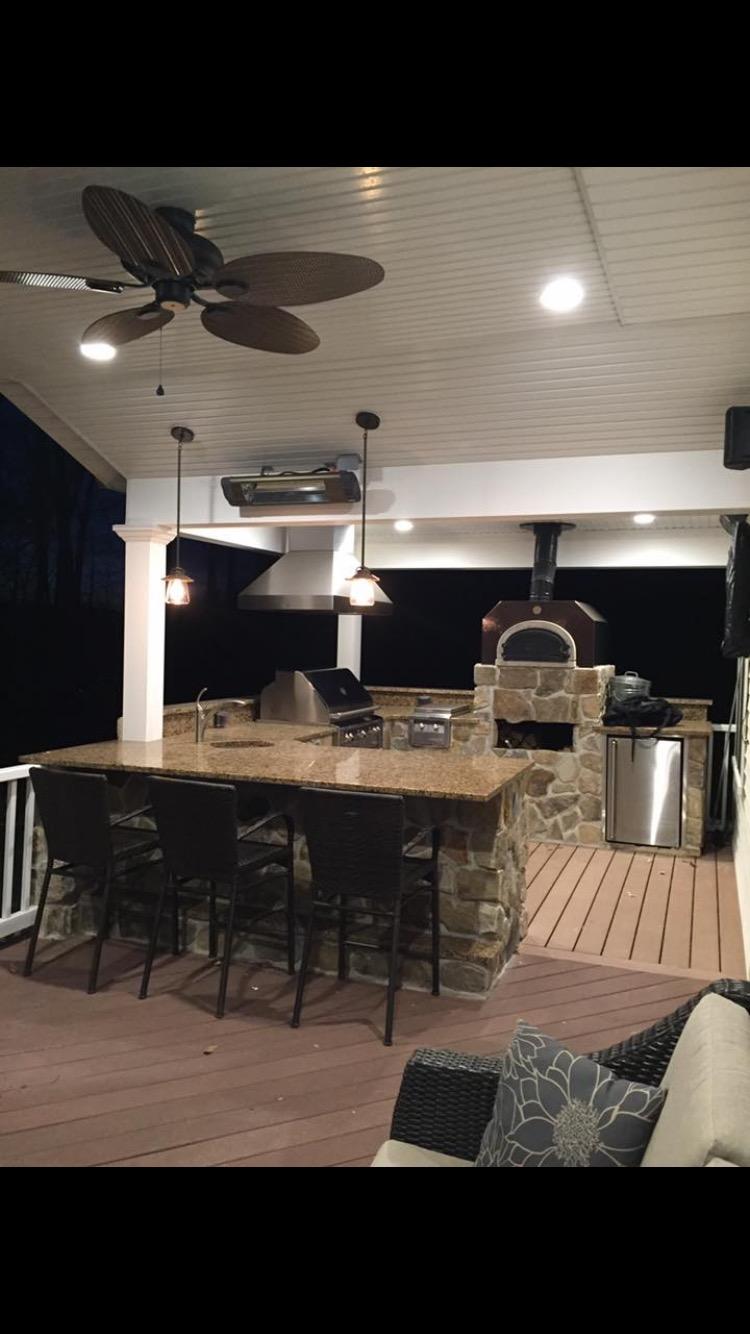 Custom Outdoor Kitchen Install – Chester NJ