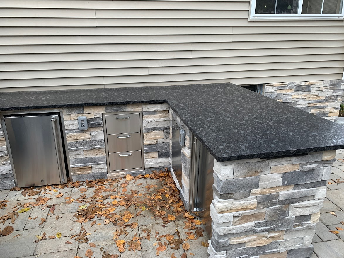 Outdoor Kitchen Install – Chester NJ