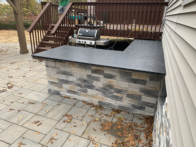 Outdoor Kitchen Install 2 – Chester NJ