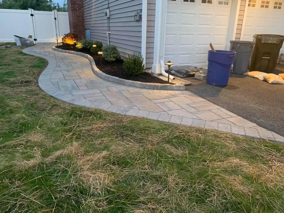 Paver Walkway Installation - Bridgewater NJ