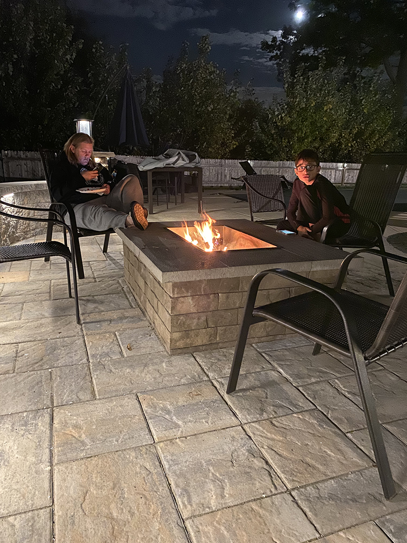 Outdoor Living Fire Pit Install – Mendham NJ