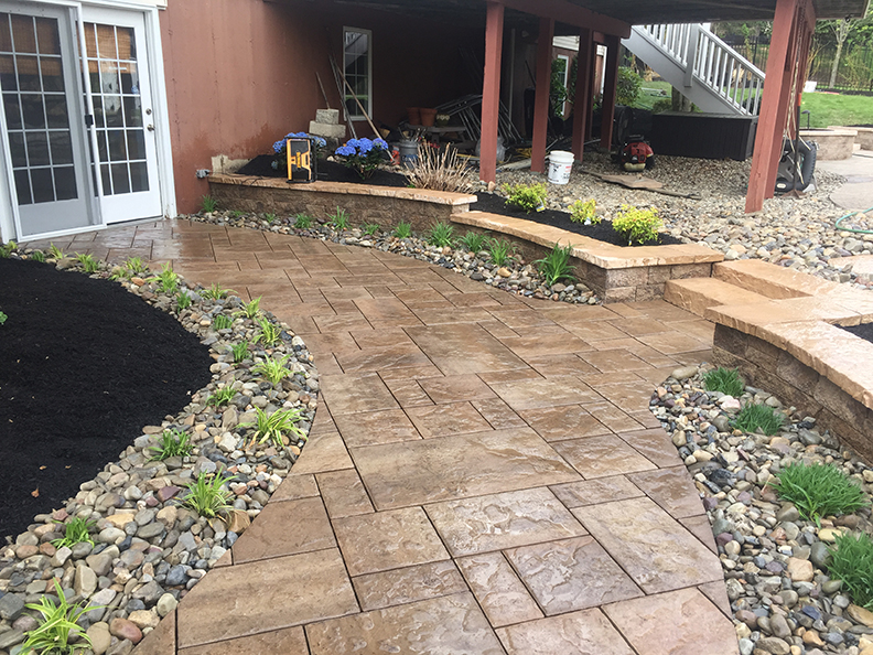 Paver Walkway - Far Hills NJ