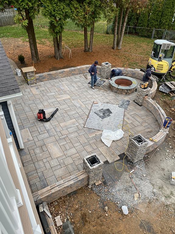 Paver Patio Install – Chester NJ