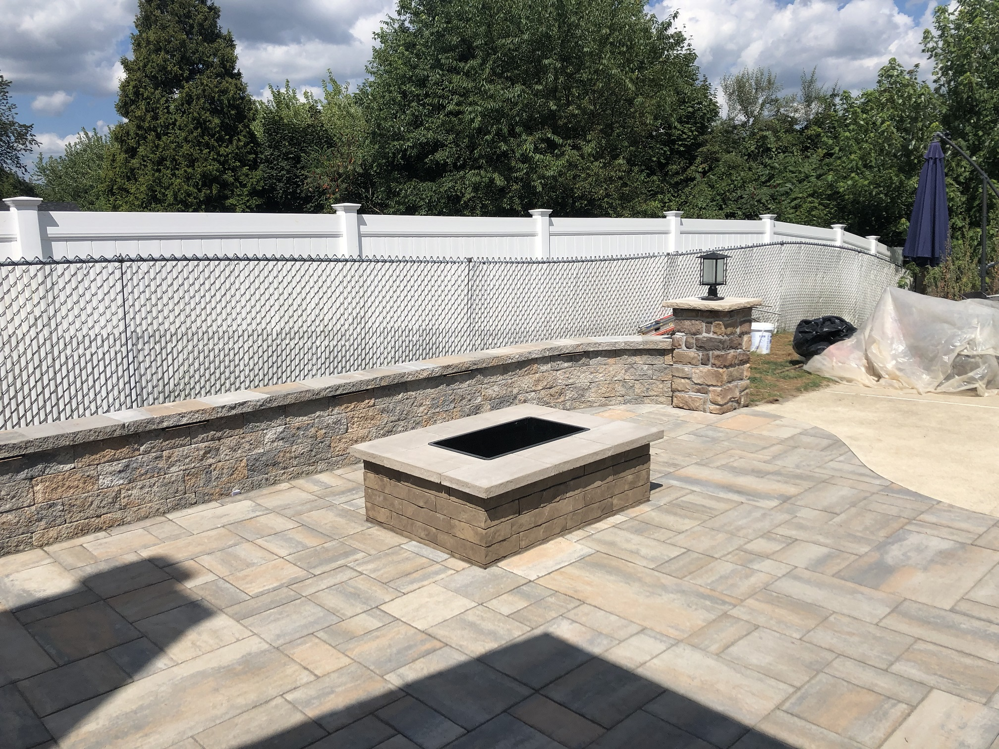 Paver Patio with Firepit – Long Valley  NJ